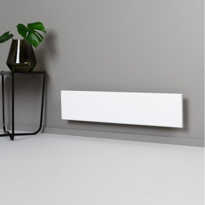 Adax Neo Wifi Glass Electric Skirting Panel Heater Wall