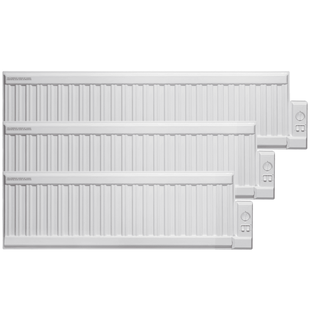 Adax Alo Oil Filled Electric Radiator Wall Mounted Low
