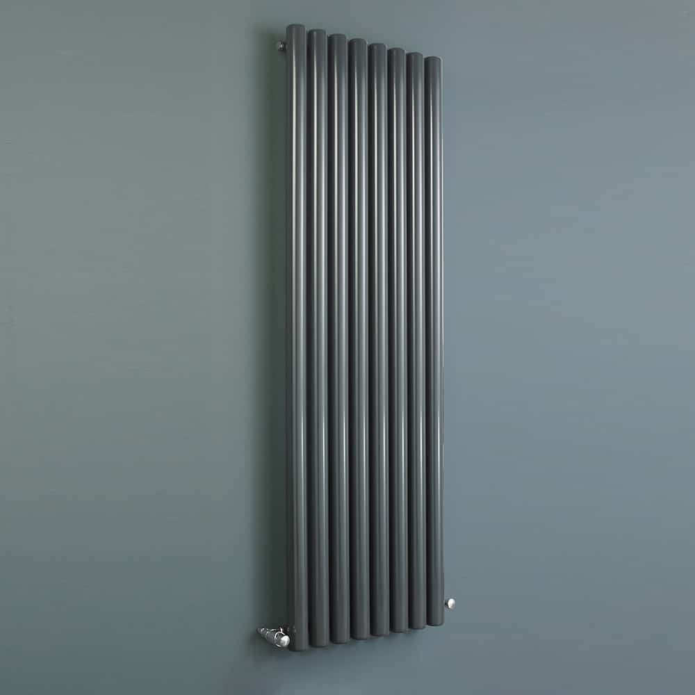 Druid Vertical Radiator - Central Heating. Round Tube, High Output