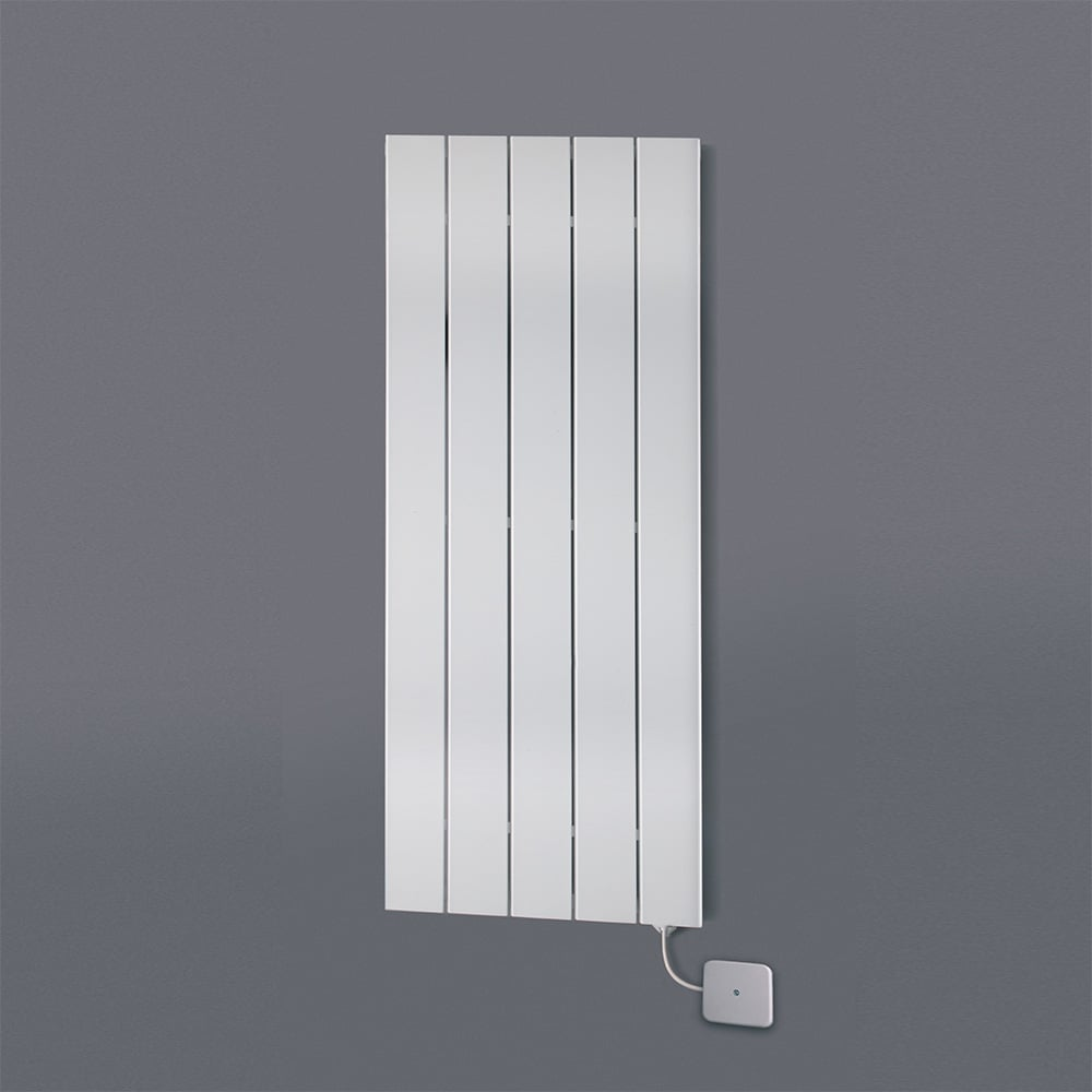 Hailwood Vertical Electric Designer Radiator, Flat Panel Wall Mounted