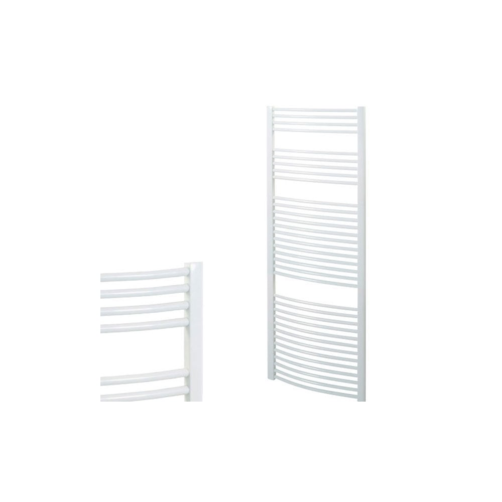 curved central heating ladder towel rail the bray